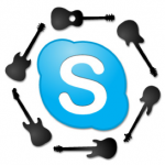 Skype guitar, bass and music theory lessons