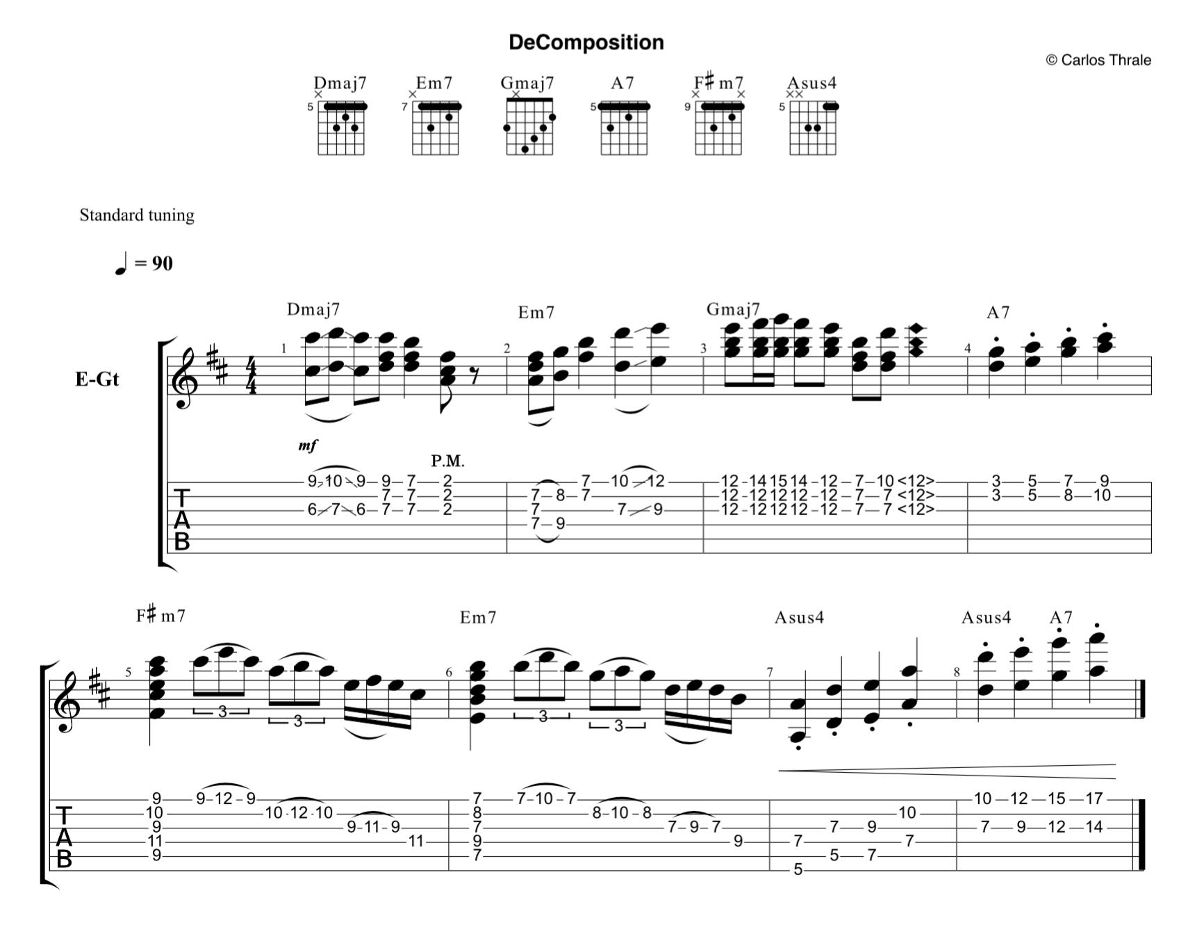 De ~Composition